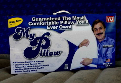 Michael J. Lindell, inventor and CEO of My Pillow, Inc
