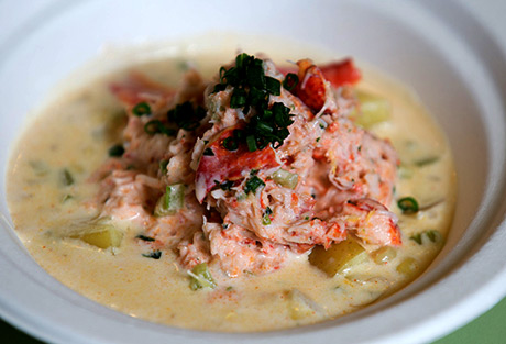 Lobster Chowder. Just... divine.