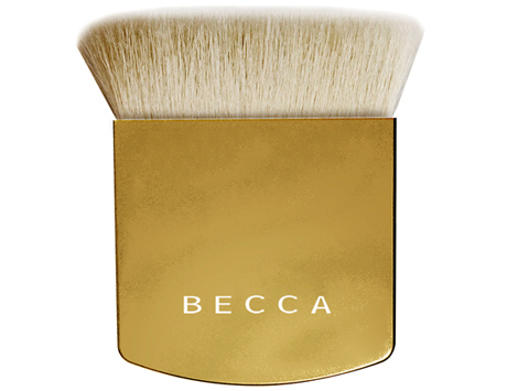The Becca Limited Edition Holiday Gold One Perfecting Brush