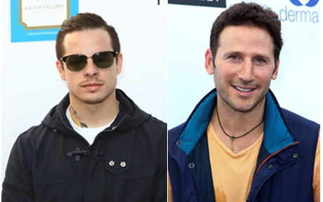 "Beau Casper, Mark Feuerstein ""Royal Pains"""