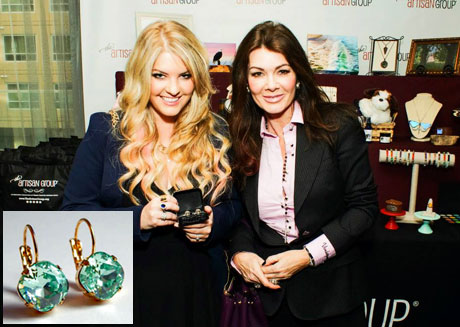 Pandora and Lisa Vanderpump of Vanderpump Rules and The Real Housewives of Beverly Hills with LoveYourBling.