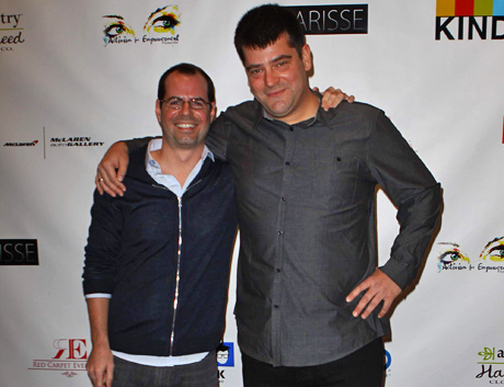 57th Annual GRAMMY Awards nominees Adam Ellison and Nimrod Antal.