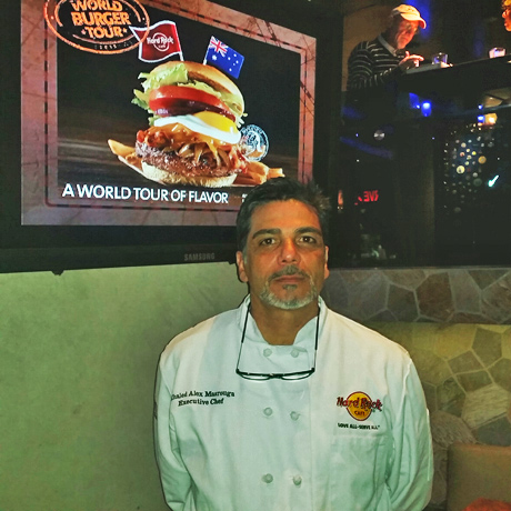Hard Rock Hollywood Executive Chef Executive Chef Khaled Alex Masrouga