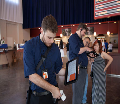 ArcLight provides the most efficient movie check in process.