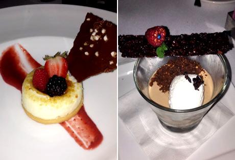 Esterel desserts