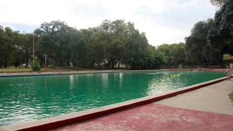 Fort Clark natural springs pool.
