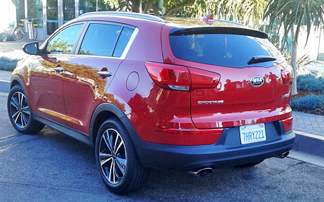 The 2015 Kia Sportage SX AWD