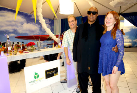 Musician Stevie Wonder attends the GRAMMY Gift Lounge during The 58th GRAMMY Awards at Staples Center on February 14, 2016 in Los Angeles, California.
