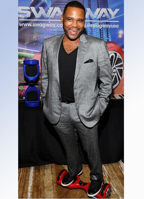Anthony Anderson on a Swagway