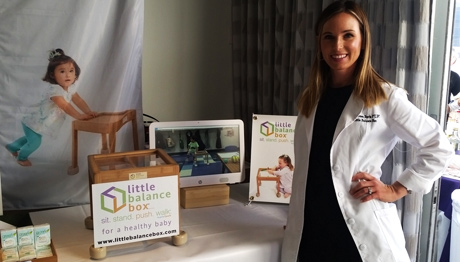 Dr. Shannon Davis Creator of Little Balance Box