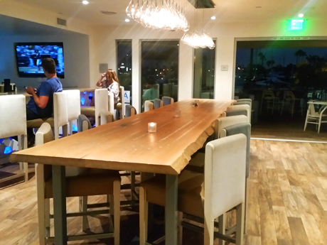 Beautiful communal table for special occasions or just getting together with your favorite people.