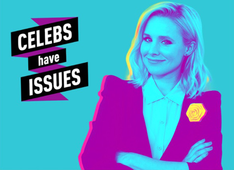 Kristen Bell Celebs have issues