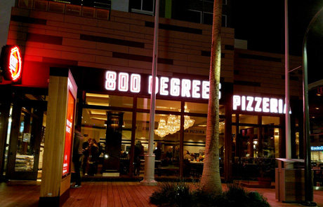 800 Degrees Pizza in Playa Vista, California