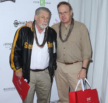 Peter MacKenzie and Graham Beckel