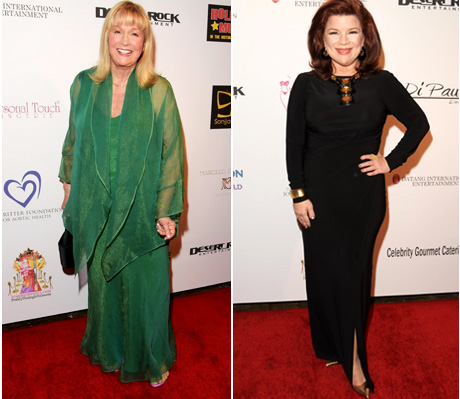"Actress Diane Ladd and ""Have or Have Nots"" actress Renee Lawless"