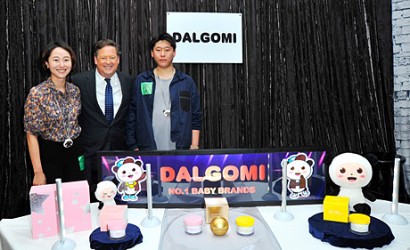 TV Personality Sam Rubin with Dalgomi