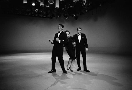 Judy Garland, Dean Martin, Frank Sinatra