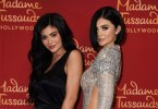 Kylie Jenner and her wax figure lookalike