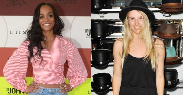 The Bachelorette Rachel Lindsay and Olympian snowboarder Anna Gasser at the 2017 GBK pre ESPY gift suite