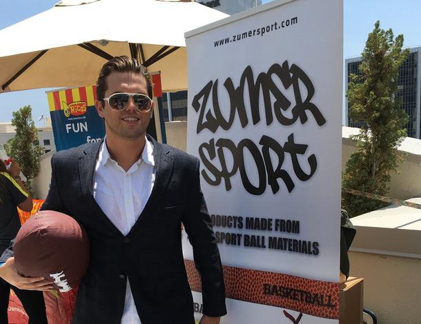 Tyler Emery with Zumer Sports
