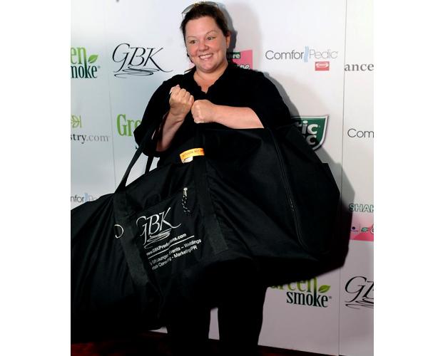 Melissa McCarthy at a GBK Emmy event