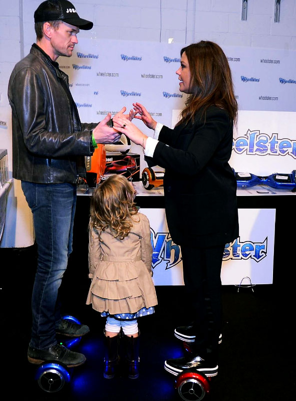 Neil Patrick Harris and Rachel Ray at GBK gift lounge
