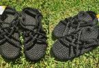Nomadic State of Mind Handmade Sandals, JC in Black