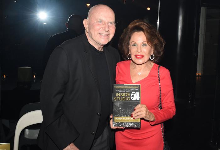 Mark Fleischman with Nikki Haskell