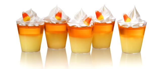 SVEDKA Vodka – Candy Corn Jelly Shots