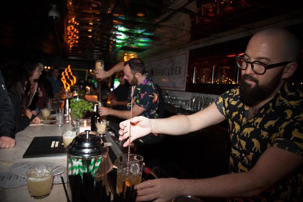 Attaboy NYC Bartending Legends Monkey Shoulder Whiskey