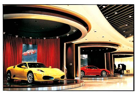 Wynn Las Vegas Ferrari dealership