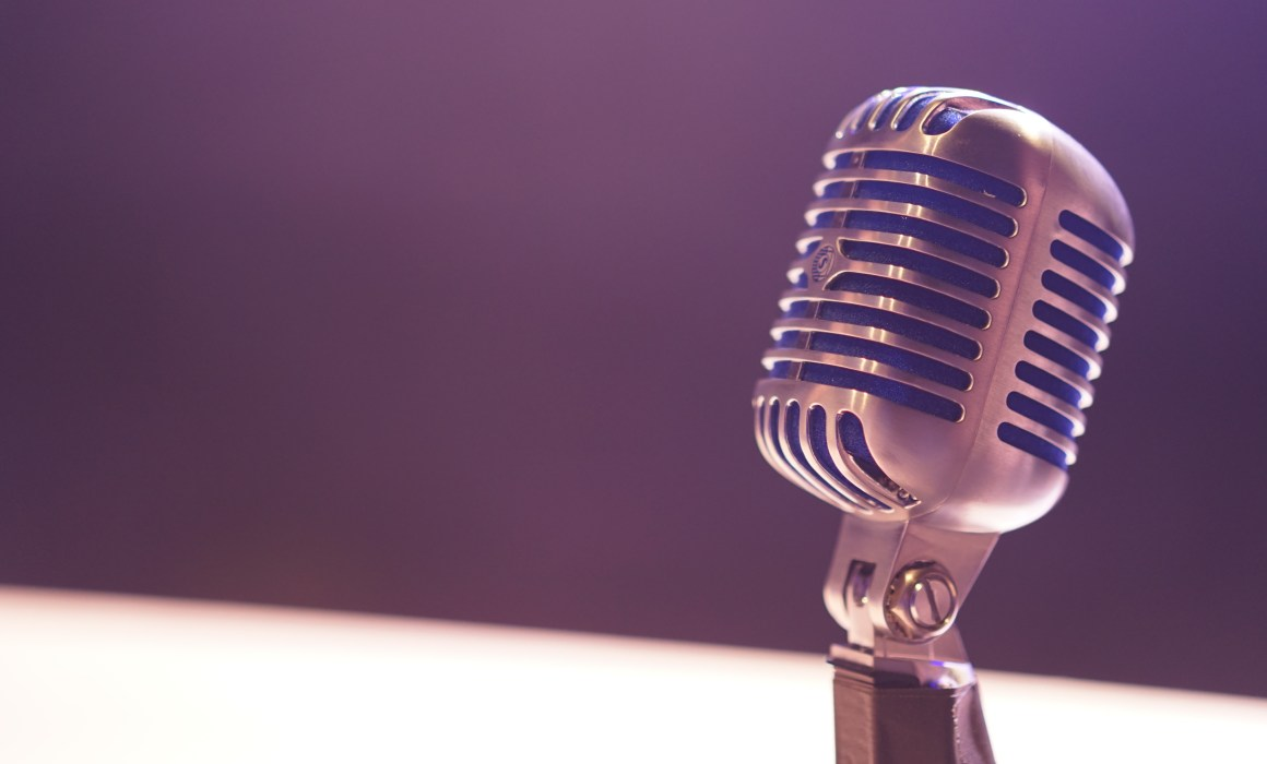 how to interview family members - microphone