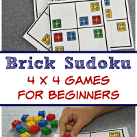 Brick Sudoku for Kids - 4x4 Beginner Games