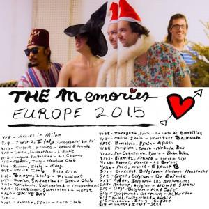 Tourdaten The Memories