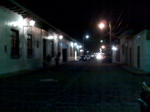 Antigua by night