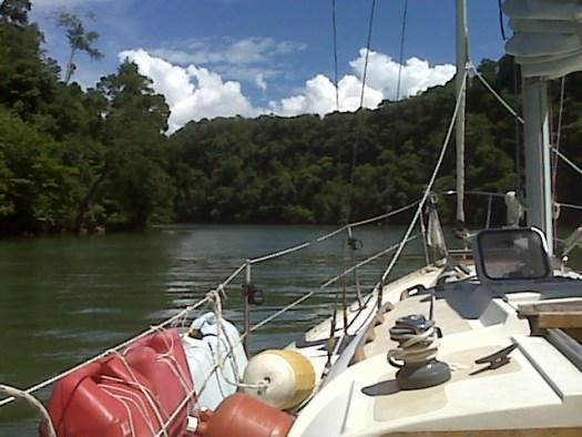 S/V Third Aye on Rio Dulce