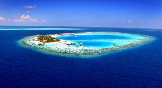 Atoll in Maldives