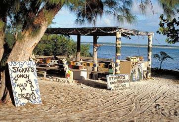 bimini stuarts conch shack