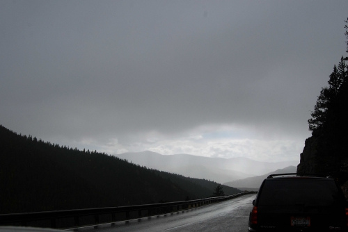 Rainy Roads of the Highlands