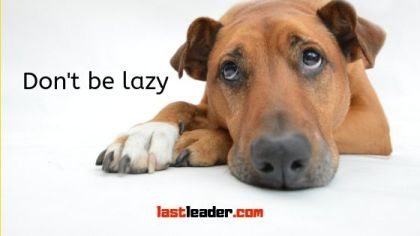 avoid-delaying-don't-be-lazy