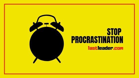 how-to-stop-procrastination