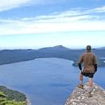 View top Hump Ridge Track