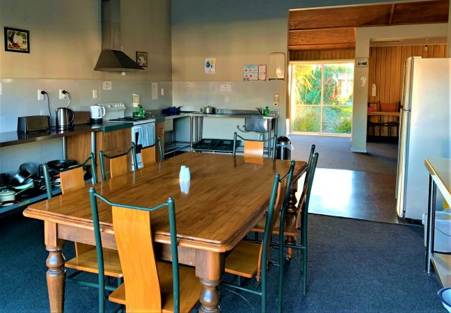 main communal kitchen