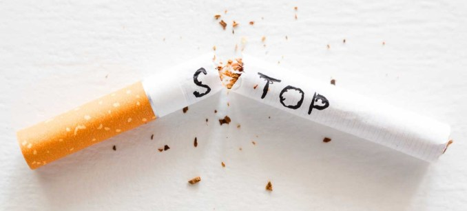 QUIT SMOKING to Stay Erect for Hours