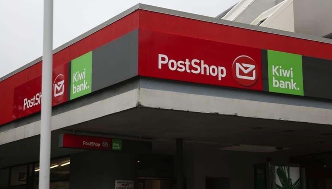 NZ Post Shop corner view, just the building