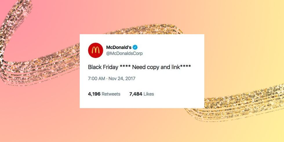 ​McDonald's Black Friday Tweet Is Going Viral for a Hilarious Reason
