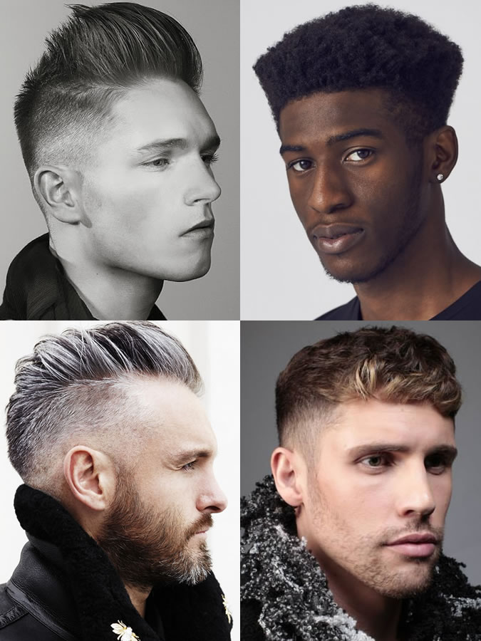 Men's hairstyles/haircuts for Round Face Shapes