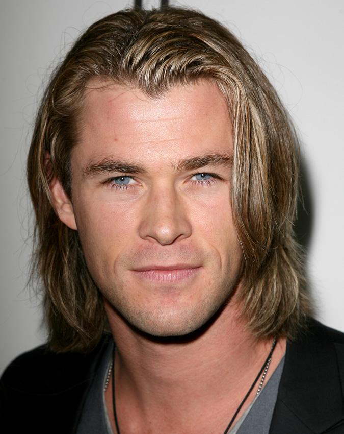 Chris Hemsworth Long Hair