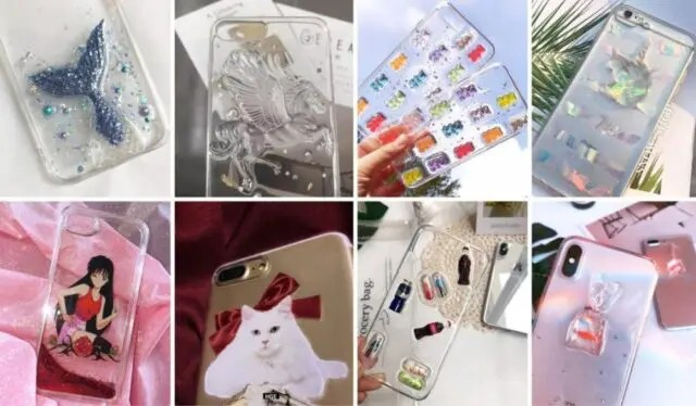 20+ Popular Cute Clear iPhone Cases For Girly Teenage Girls (2020)