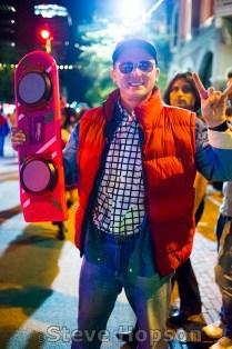 Halloween on 6th Street, Austin, Texas, October 31, 2015.